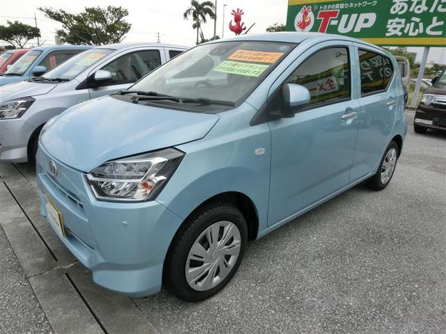 沖縄の中古車 ダイハツ ミライース 車両価格 115.5万円 リ済別 2018(平成30)年 340km ブルー