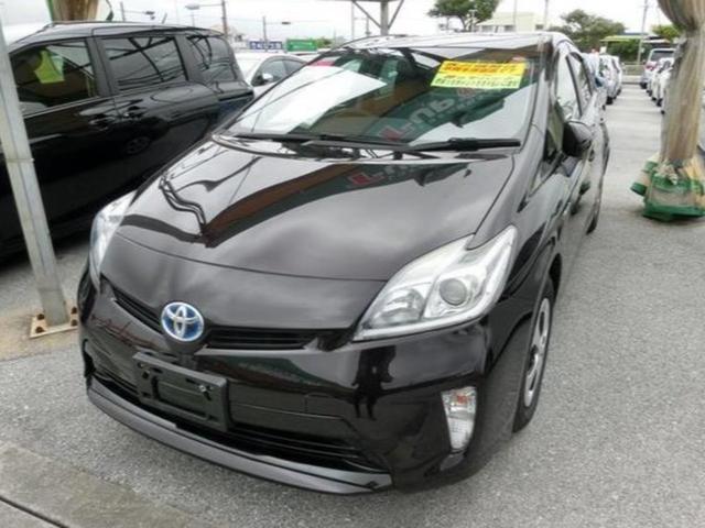 沖縄県の中古車ならプリウス S ハイブリッド ETC車載器 7インチナビ