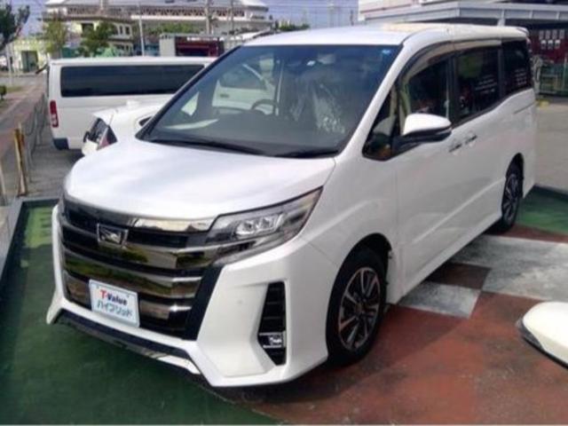 沖縄県豊見城市の中古車ならノア Si ダブルバイビー TSS トヨタセーフティセンス装備 両側電動スライドドア