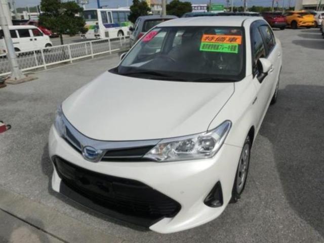 沖縄県の中古車ならカローラアクシオ ハイブリッドG TSS トヨタセーフティセンス装備 ETC車載器 クルーズコントロール プッシュスタートスイッチ