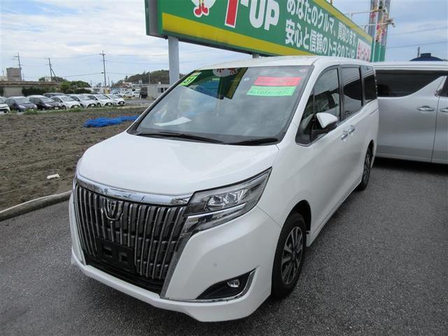 沖縄の中古車 トヨタ エスクァイア 車両価格 247.5万円 リ済別 2019(平成31)年 2.7万km ホワイトパールクリスタルシャイン