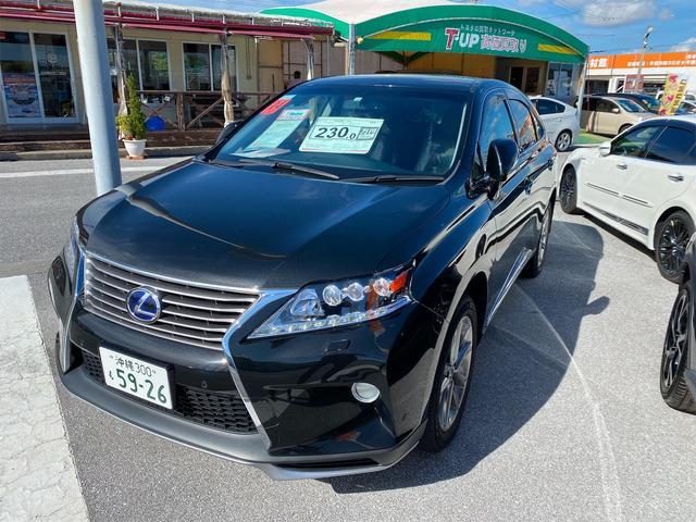 沖縄県豊見城市の中古車ならRX RX450h バージョンL