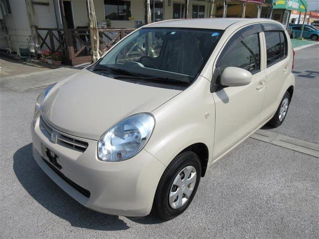 沖縄の中古車 トヨタ パッソ 車両価格 38.5万円 リ済別 2013(平成25)年 4.0万km ベージュ