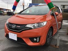 沖縄の中古車 ホンダ フィット 車両価格 100万円 リ済込 平成27年 8.7万K オレンジ