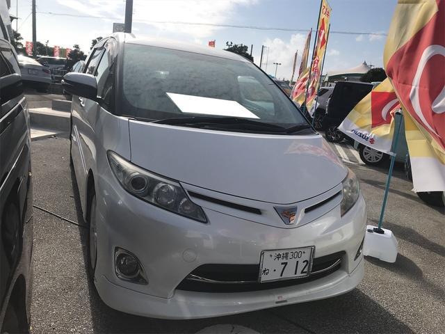 沖縄県の中古車ならエスティマ アエラス キーフリー 片側電動スライドドア