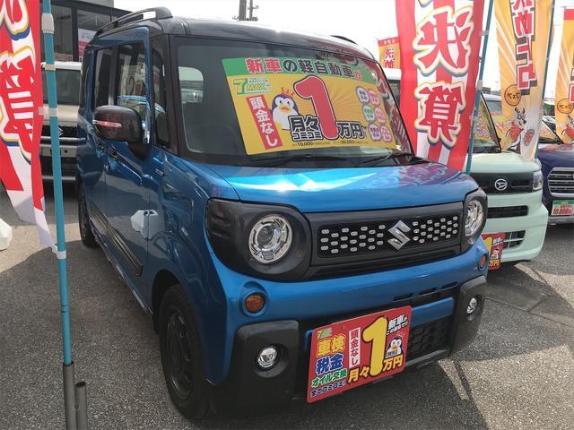 沖縄県豊見城市の中古車ならスペーシアギア ハイブリッドXZ ターボ