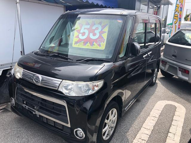沖縄の中古車 ダイハツ タント 車両価格 48万円 リ済込 2010(平成22)年 8.9万km ブラックM