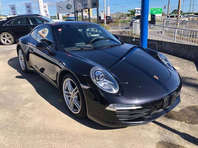 沖縄の中古車 ポルシェ 911 車両価格 690万円 リ済込 2013(平成25)年 6.5万km ブラックM