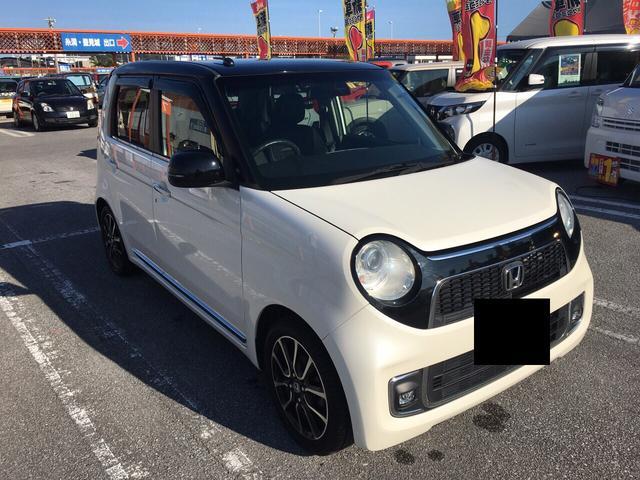沖縄の中古車 ホンダ N-ONE 車両価格 108万円 リ済込 2016(平成28)年 3.2万km ホワイトII