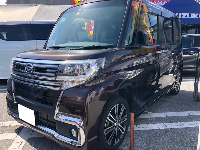 沖縄の中古車 ダイハツ タント 車両価格 123万円 リ済込 2016(平成28)年 3.2万km ブラウン