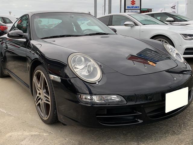 沖縄の中古車 ポルシェ 911 車両価格 430万円 リ済込 2008(平成20)年 4.3万km ブラック