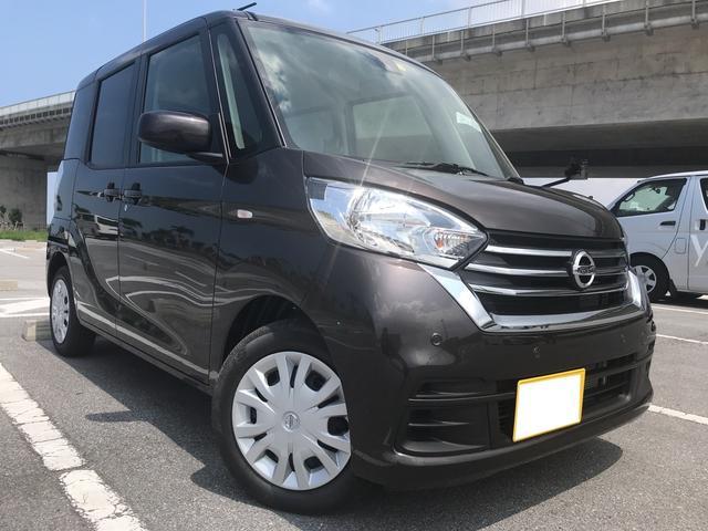 沖縄の中古車 日産 デイズルークス 車両価格 112万円 リ済込 2019年 10km アッシュブラウンM
