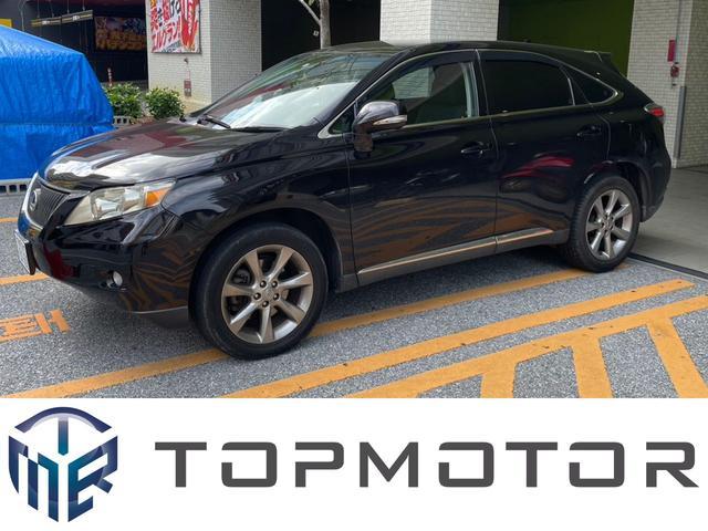 沖縄の中古車 レクサス RX 車両価格 125.8万円 リ済込 2009(平成21)年 11.7万km ダークパープルII