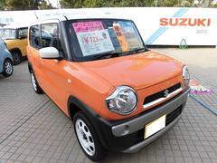 沖縄の中古車 スズキ ハスラー 車両価格 123万円 リ済込 平成29年 0.8万K パッションオレンジ ホワイト2トーンルーフ