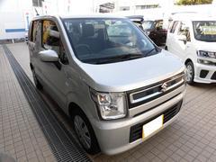 沖縄の中古車 スズキ ワゴンR 車両価格 103万円 リ済込 平成29年 0.9万K シルキーシルバーメタリック