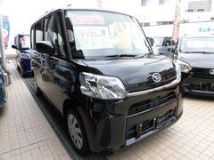 沖縄の中古車 ダイハツ タント 車両価格 128万円 リ済込 平成30年 5K ブラックマイカメタリック