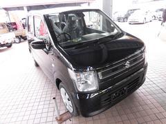 沖縄の中古車 スズキ ワゴンR 車両価格 130万円 リ済込 平成30年 5K ブルーイッシュブラックパール3
