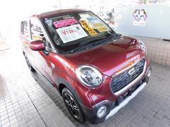 沖縄の中古車 ダイハツ キャスト 車両価格 133万円 リ済込 平成28年 0.6万K ファイアークォーツレッドメタリック