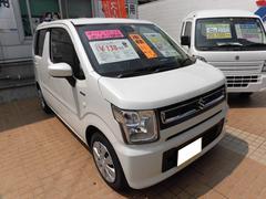 沖縄の中古車 スズキ ワゴンR 車両価格 133万円 リ済込 平成30年 15K ピュアホワイトパール
