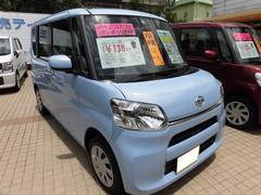 沖縄の中古車 ダイハツ タント 車両価格 133万円 リ済込 平成29年 10K シルキーブルーパール