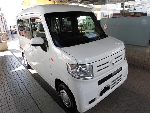 沖縄の中古車 ホンダ N-VAN 車両価格 134万円 リ済別 新車  タフタホワイトII