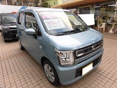 沖縄の中古車 スズキ ワゴンR 車両価格 121万円 リ済込 平成30年 5K フィズブルーパールメタリック