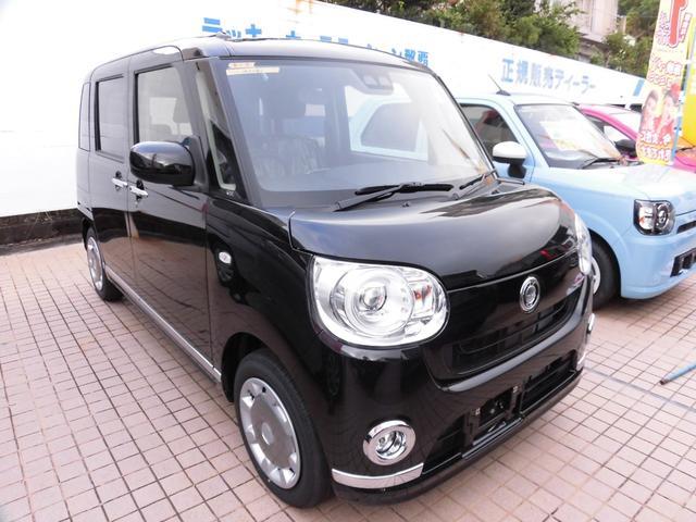 沖縄の中古車 ダイハツ ムーヴキャンバス 車両価格 155.5万円 リ済込 新車  ブラックマイカメタリック