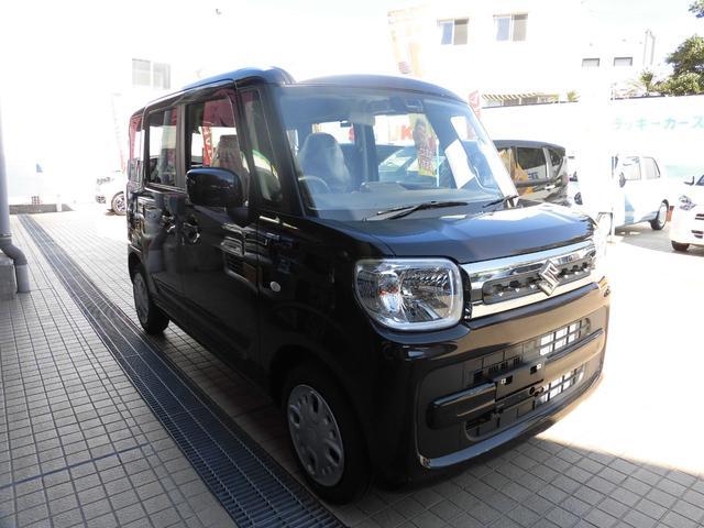 沖縄の中古車 スズキ スペーシア 車両価格 146.8万円 リ済別 新車  アーバンブラウンパールメタリック