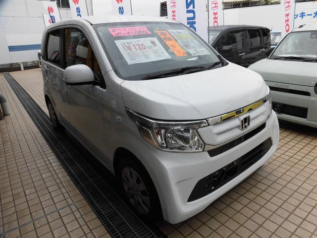 沖縄の中古車 ホンダ N-WGN 車両価格 109万円 リ済込 平成31年 5km タフタホワイトII