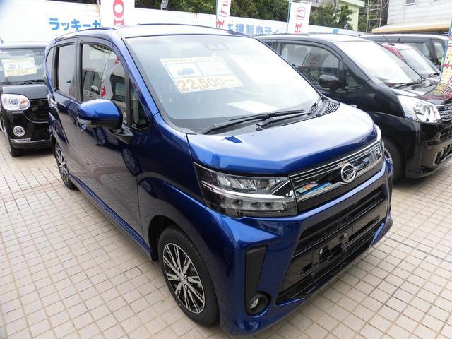 沖縄の中古車 ダイハツ ムーヴ 車両価格 149万円 リ済別 新車  ディープブルークリスタルマイカ