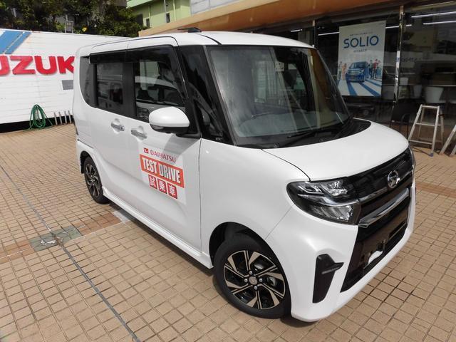 沖縄の中古車 ダイハツ タント 車両価格 166万円 リ済別 新車  シャイニングホワイトパール