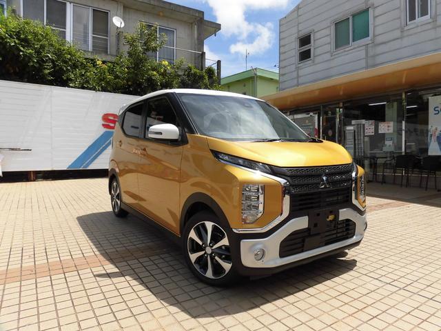 沖縄の中古車 三菱 eKクロス 車両価格 155万円 リ済別 新車  イエローII