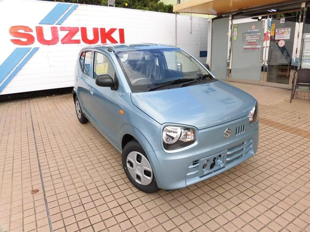 沖縄の中古車 スズキ アルト 車両価格 95万円 リ済別 新車  ブルー