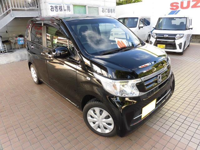 沖縄の中古車 ホンダ N-WGN 車両価格 127万円 リ済込 2019(令和1)年 0.7万km ブラック