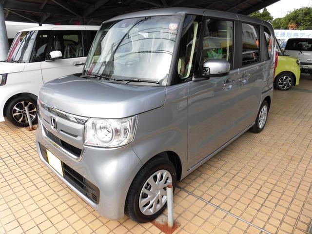 沖縄の中古車 ホンダ N-BOX 車両価格 159万円 リ済込 2019(令和1)年 5km シルバー