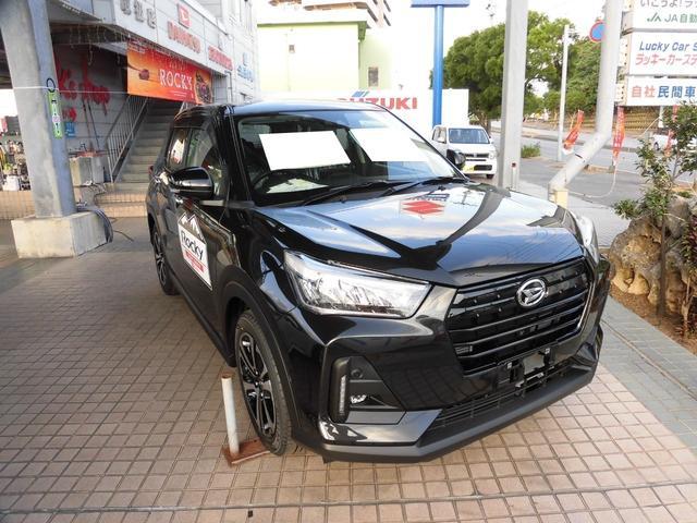 沖縄県の中古車ならロッキー G  展示&試乗車 試乗出来ます!