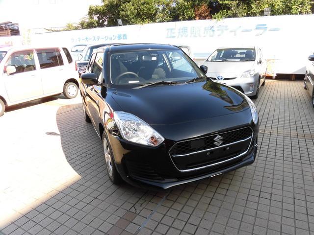 沖縄の中古車 スズキ スイフト 車両価格 148.8万円 リ済別 新車  ブラック