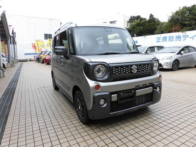 沖縄県の中古車ならスペーシアギア ハイブリッドXZ  新車 展示車