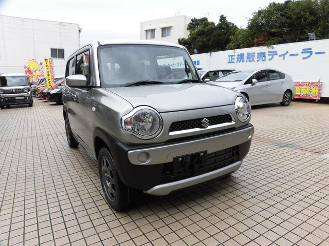沖縄県の中古車ならハスラー G デュアルカメラブレーキサポート付