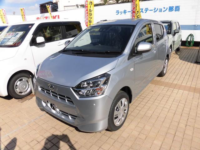 沖縄の中古車 ダイハツ ミライース 車両価格 111.6万円 リ済別 新車  シルバーM