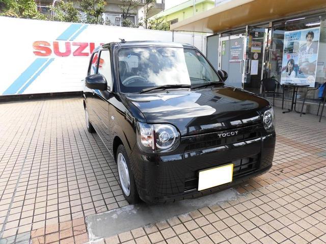 沖縄の中古車 ダイハツ ミラトコット 車両価格 108万円 リ済込 2019(平成31)年 6km ブラック