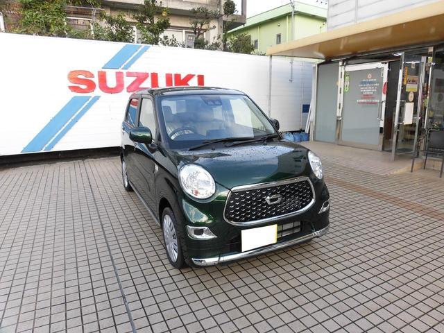 沖縄の中古車 ダイハツ キャスト 車両価格 123万円 リ済込 2018(平成30)年 10km グリーン
