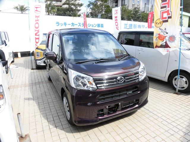 沖縄の中古車 ダイハツ ムーヴ 車両価格 119.9万円 リ済別 新車  プラムブラウンメタリック