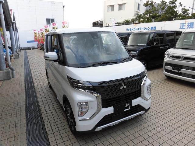 沖縄県の中古車ならeKクロススペース G デジタルルームミラー (アラウンドモニター表示)搭載