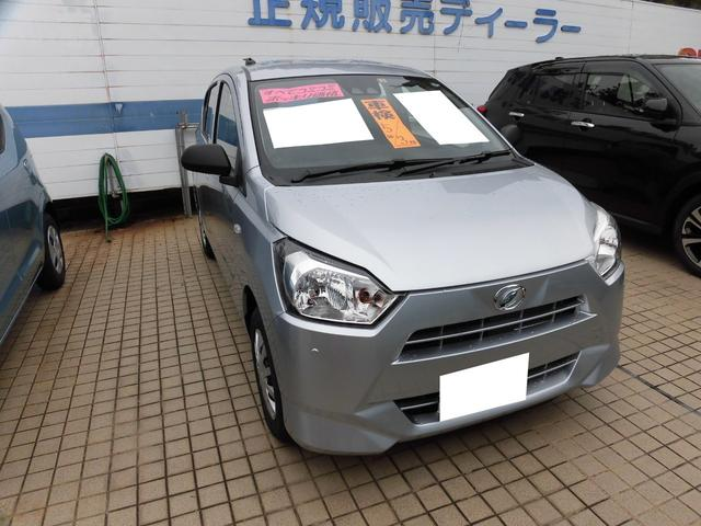 沖縄の中古車 ダイハツ ミライース 車両価格 99万円 リ済込 2020(令和2)年 10km シルバー