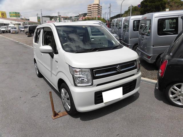 沖縄県の中古車ならワゴンR ハイブリッドFX 当社代車UP