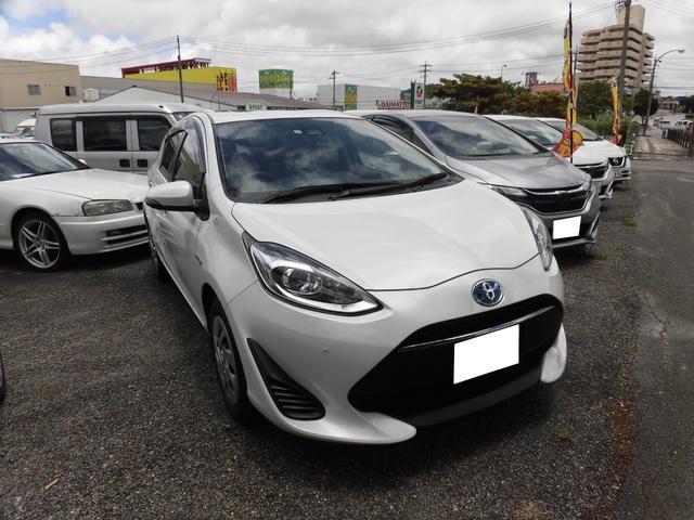 トヨタ アクア Sスタイルブラック 当社レンタUP車