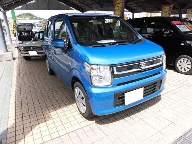沖縄の中古車 スズキ ワゴンR 車両価格 117万円 リ済込 2020(令和2)年 10km ダークブルー