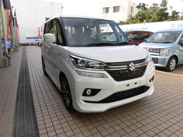 沖縄県の中古車ならソリオバンディット マイルドハイブリッドMV  新車デモカー