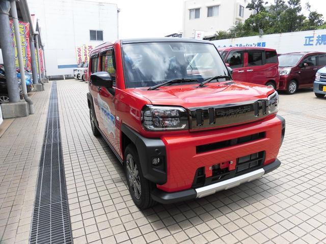 ダイハツ タフト G 新車デモカー 9インチメモリーナビ バックカメラ搭載